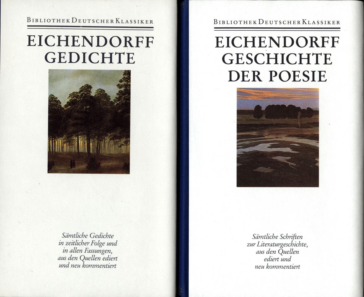 Joseph Von Eichendorff Werke In Sechs Bänden